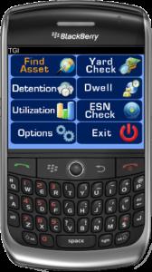 TGI App for Blackberry